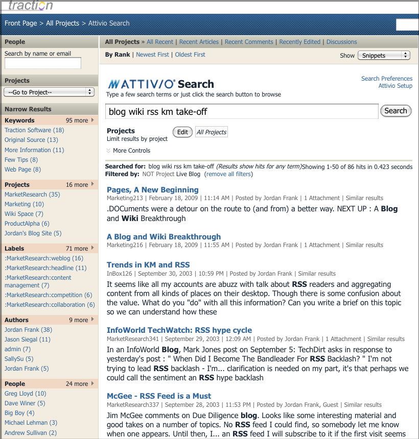 Doc109: Using the Attivio Advanced Search option